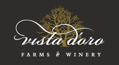 Vista D'oro Farms & Winery Logo Langley BC Canada